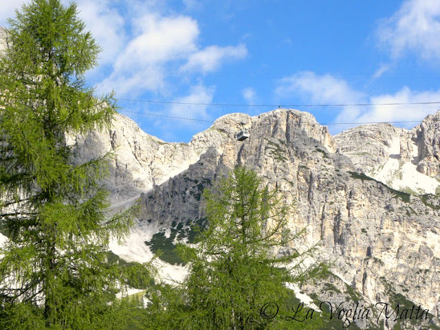 """Cortina d'Ampezzo funivia """" Freccia nel Cielo """""""