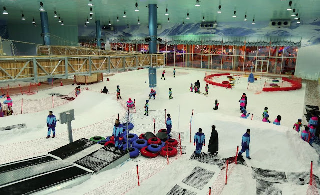 مدينة الثلج الرياض
