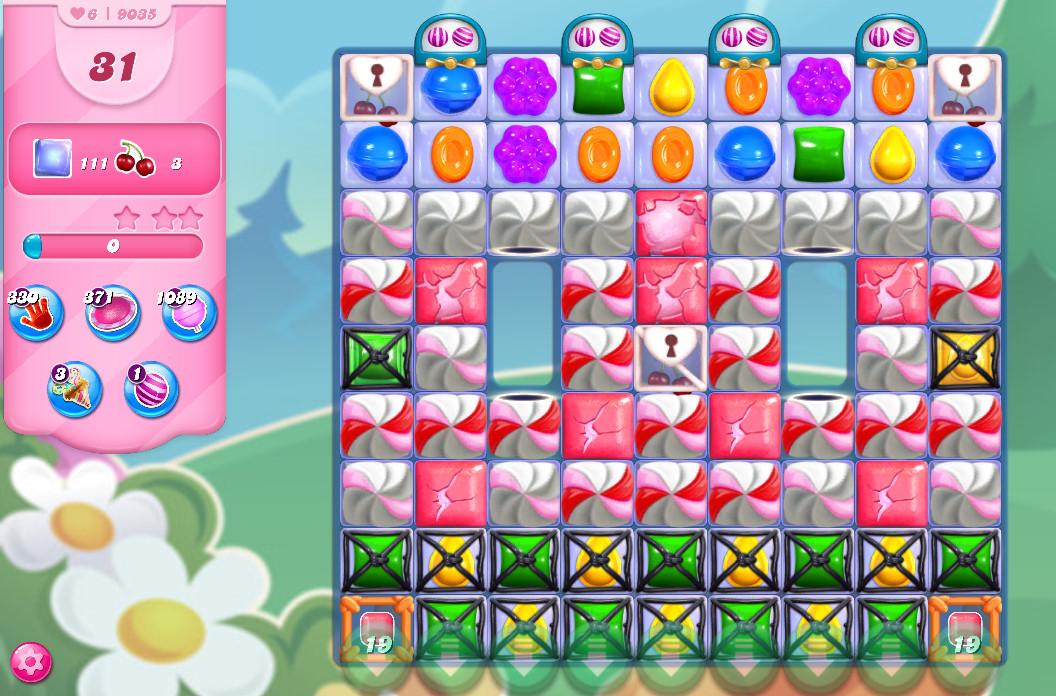 Candy Crush Saga level 9035