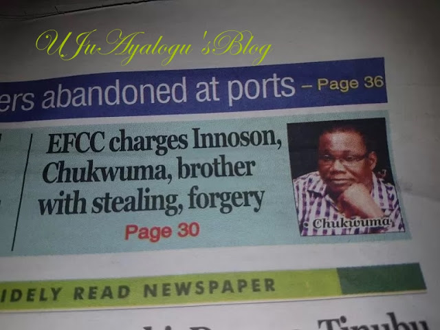 EXTRA: This Innocent Chukwuma is NOT that Innocent Chukwuma
