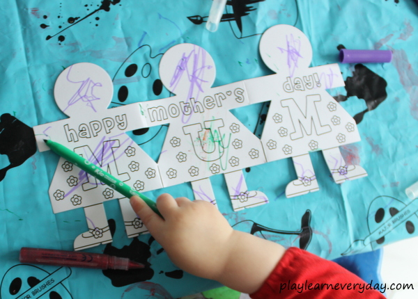 Mother S Day Crafts Play And Learn Every Day