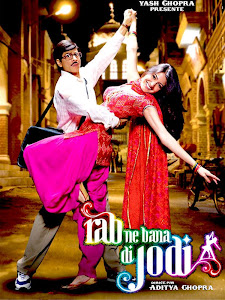 Watch Online Bollywood Movie Rab Ne Bana Di Jodi 2008 300MB BRRip 480P Full Hindi Film Free Download At WorldFree4u.Com