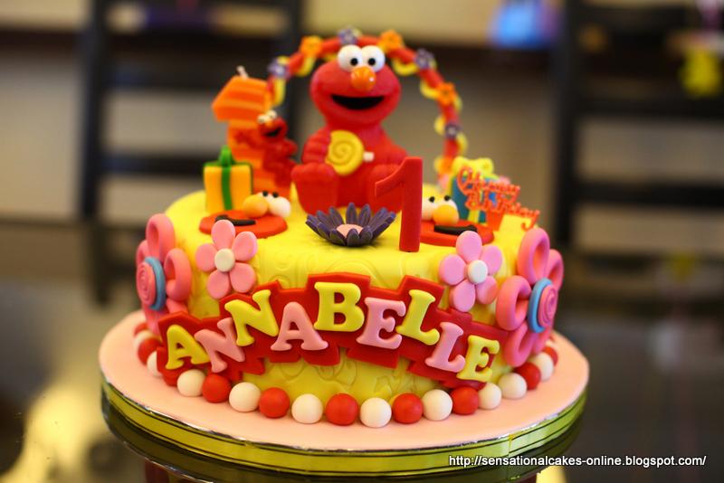 The Sensational Cakes Sesame Streets Elmo 3d Cake
