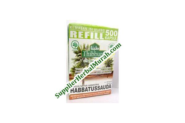 Kapsul Habbatussauda Thibbuna isi 500 Kapsul