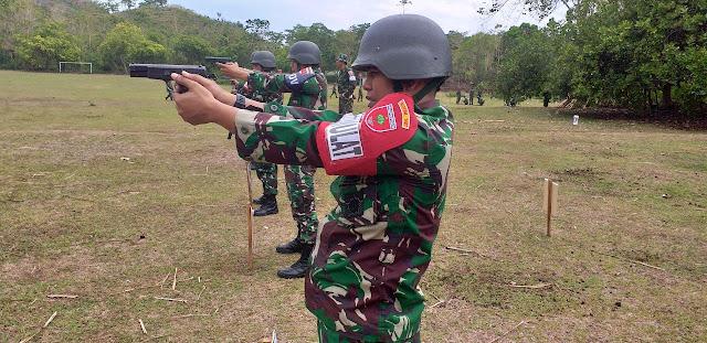 Personel Kodim 1407/Bone, Gelar Latihan Menembak, Ini Pesan Dandim