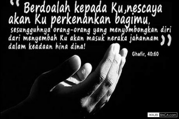 Adab dan Tata Cara Berdoa yang Baik dan Benar agar Cepat Dikabulkan