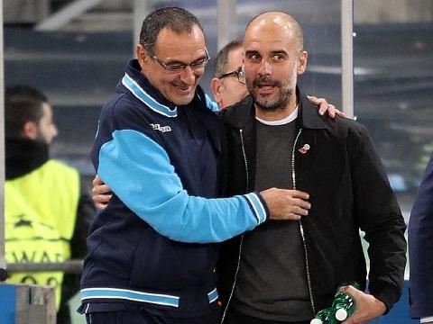 Pep Guardiola từng khen ngợi Maurizio Sarri hết lời