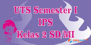 Soal Latihan UTS Kelas 2 Pelajaran IPS Semester 1 Terbaru