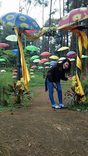 Seribu Payung Wisata Baturaden
