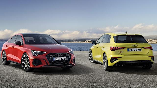 Audi S3 Sportback e Sedan 2021: fotos e detalhes oficiais