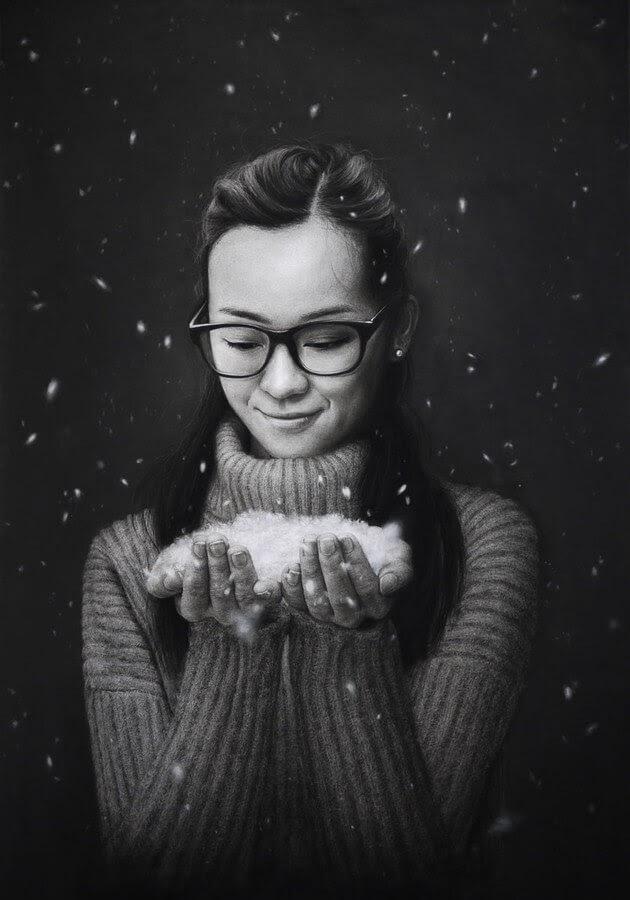 10-Snow-Falling-Liu-Ling-www-designstack-co