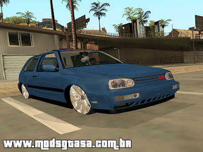 Vw Golf GTi Edit para GTA San Andreas