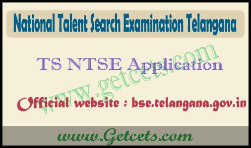 TS ntse application form 2020-2021 notification @bsetelangana