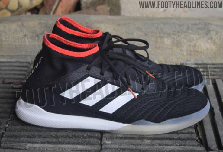 Adidas Predator Tango 18.3 - Black  White  Solar Red