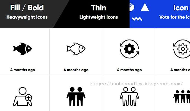 Daftar Situs Penyedia Icon SVG Untuk Blog Gratis
