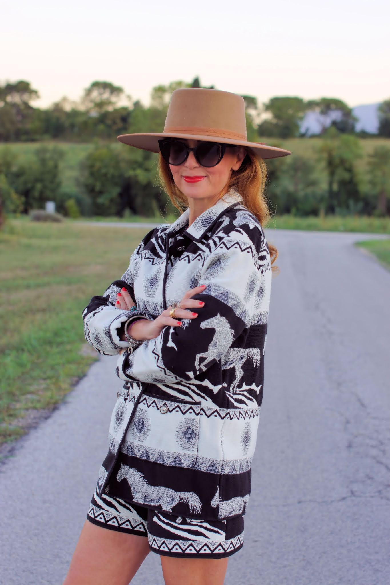 Etro style outfit
