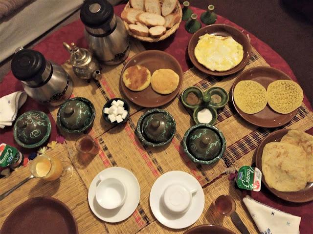 colazione tipica marrakech