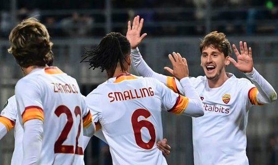 ملخص اهداف مباراة روما وزوريا لوهانسك (3-0) دوري المؤتمر الاوروبي