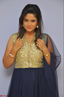Shilpa Chakravarthy anchor and actress in anarkali dress  Exclusive 015.JPG