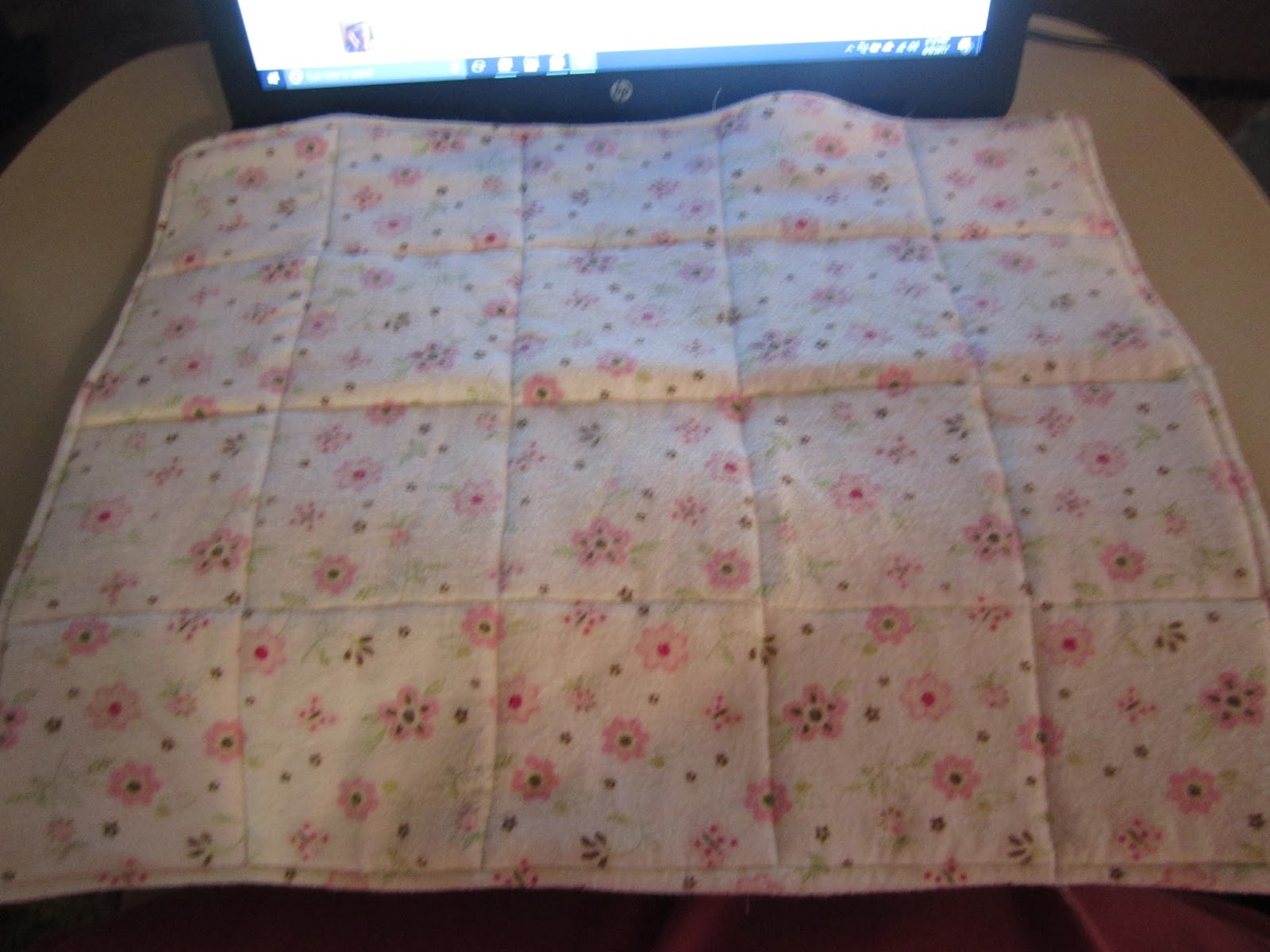 Frugal workshop doll quilts