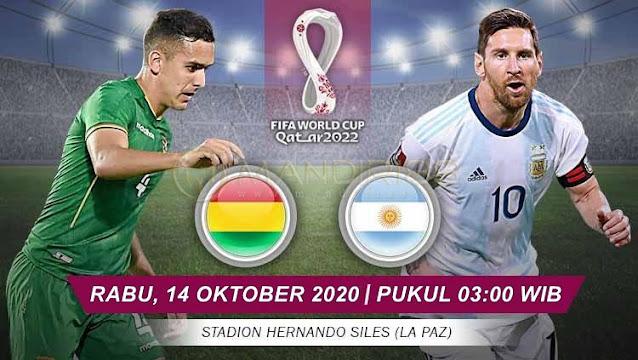 Prediksi Bolivia Vs Argentina, Rabu 14 Oktober 2020 Pukul 03.00 WIB @ Mola TV
