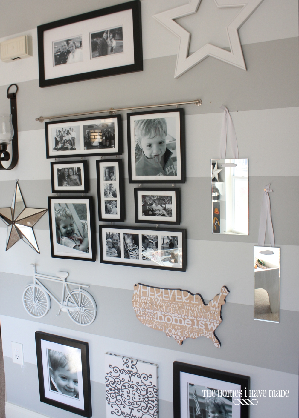 Gallery Wall Ideas With Mirror: Entryway Gallery Wall {Entry Update}