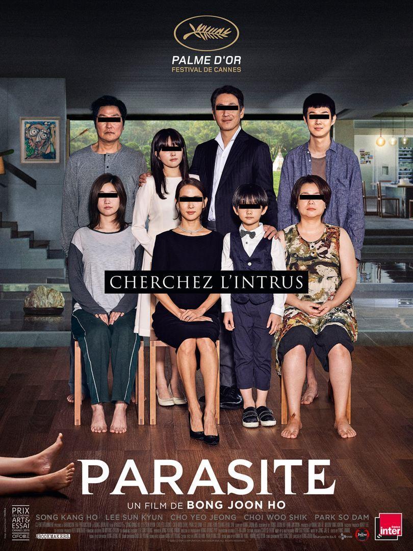 Download Parasite (2019) Full Movie in Hindi Dual Audio BluRay 480p [400MB]