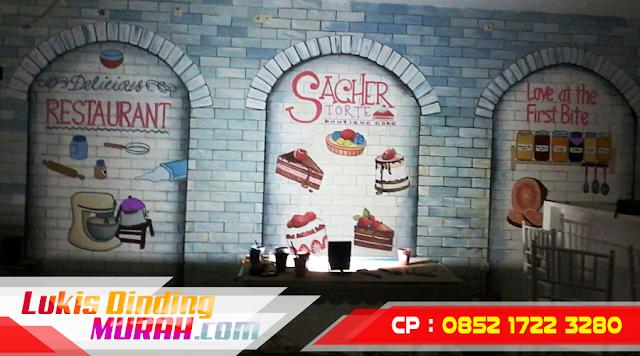 Galeri Gambar Lukisan Dinding Mural 3D