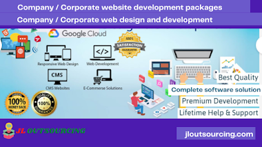 Company / Corporate website development packages