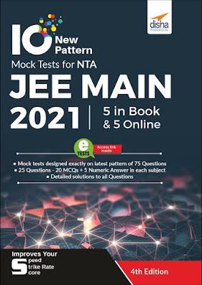 Download Disha 10 Latest NTA JEE Main 2021 Mock Tests
