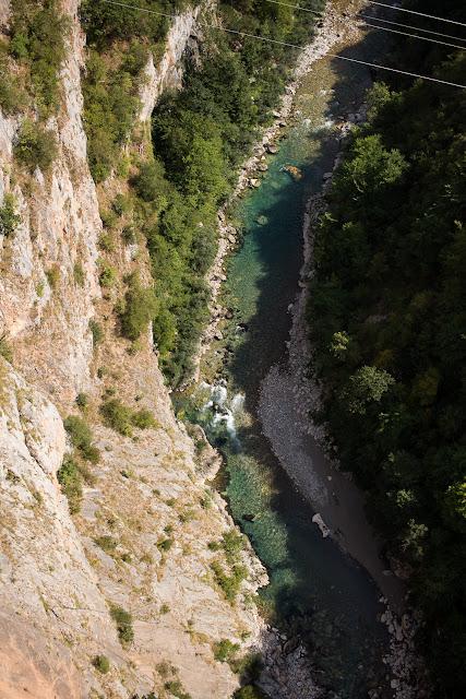 Ein Blick in die Tara-Schlucht