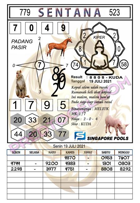 Syair Sentana Singapura45 Senin 19-juli-2021