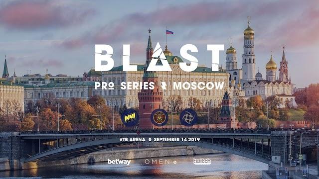 賞金獲得25万ドル「BLAST Pro Series Moscow 2019」が9月13日~14日にかけて開催、ロシアで初の開催へ