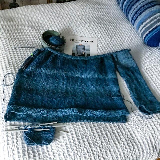selvsagtgenser, stickning, knitting, sweaterknitting, ullcentrum