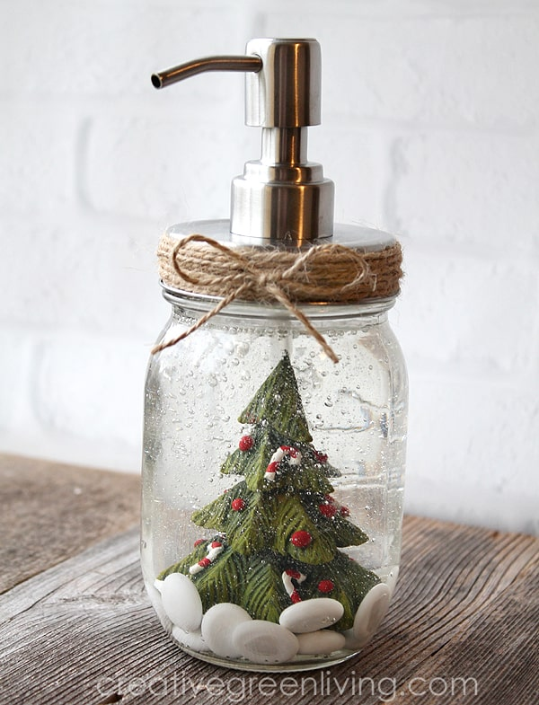 reuse a mason jar to make soap pumps for any season with this DIY project