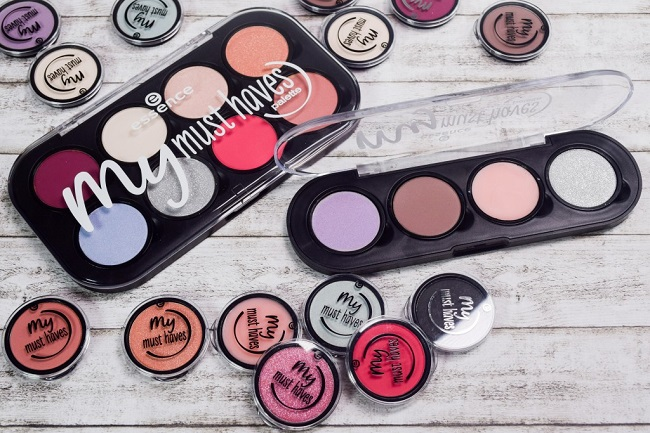 my must haves - paleta para sombras de Essence
