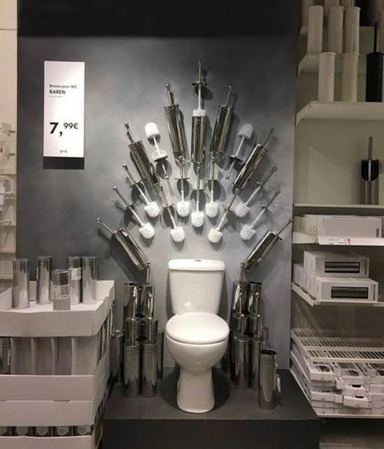 Someone got creative at Ikea