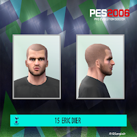 PES 6 Faces Eric Dier by El SergioJr