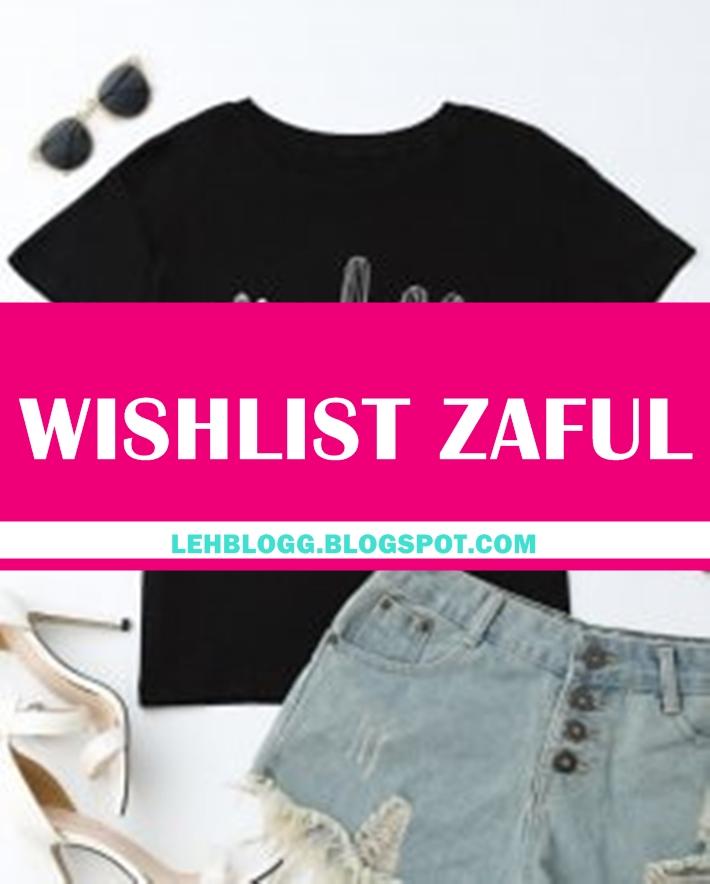 Wishlist da loja Zaful