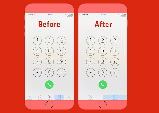 A new jailbroken cydia tweak called Phone Tools by Justin Petkovic lets you customize your phone.app the way you like.  There are usually 5 tabs on the phone app on an iPhone