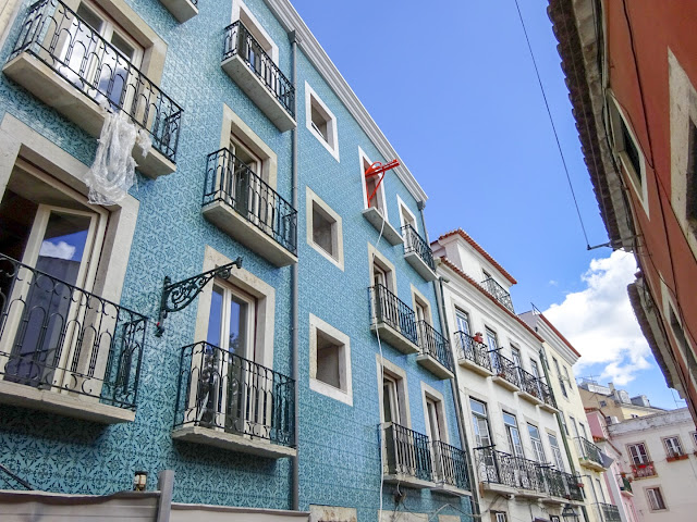 More Colourful Buildings in Lisbon