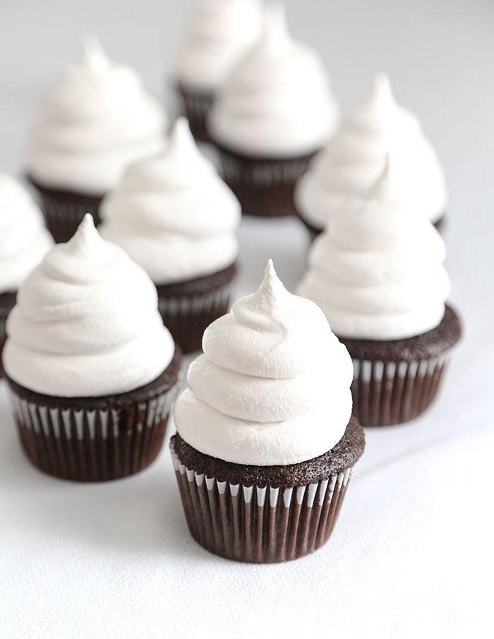 Ruby Chocolate Hi Hat Cupcakes