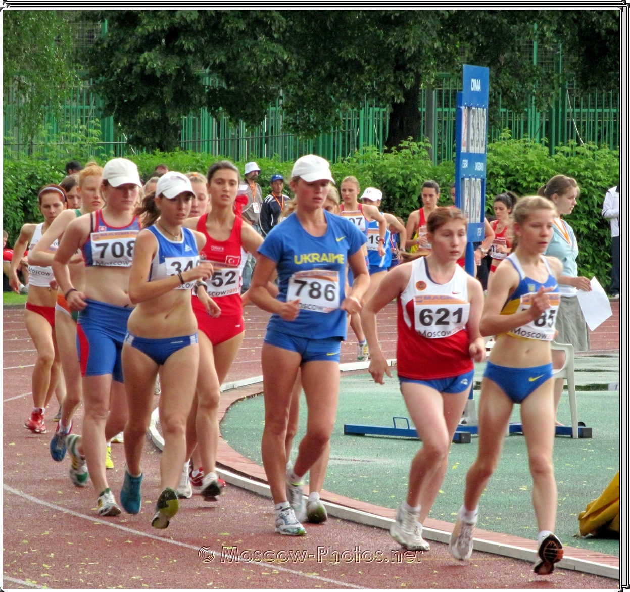 Girl's Sport Walking at European Youth Olympic Trials
