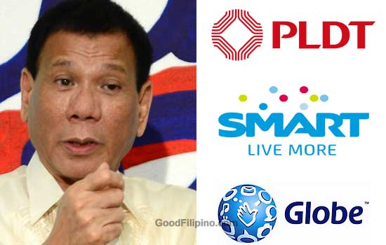 Duterte on Philippine TELCOS: 'Improve internet services, or new competitors come'