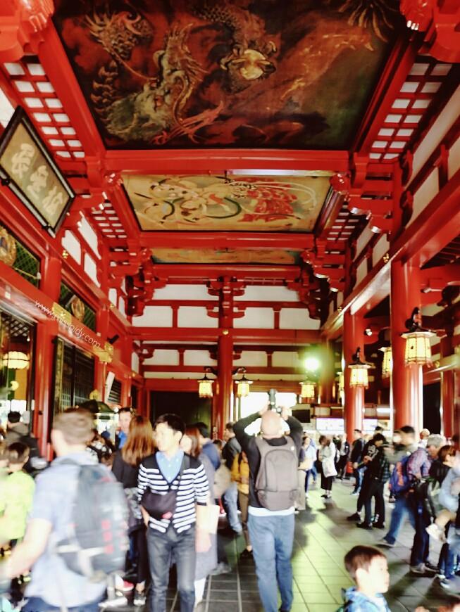 pengalaman ke sensoji temple