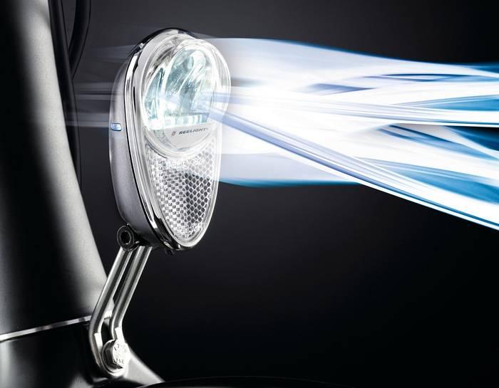 luces Reelight bicicletas sin bateria sin cable