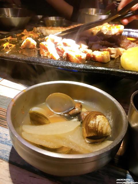 韓式蛤蜊海鮮湯