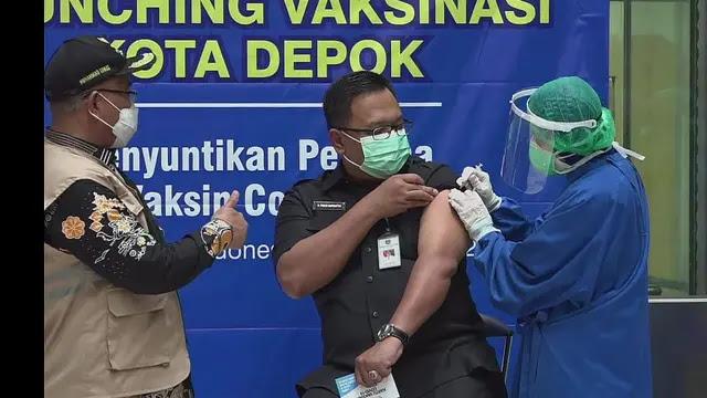 Usai Divaksin, Wakil Wali Kota Depok Malah Positif Corona