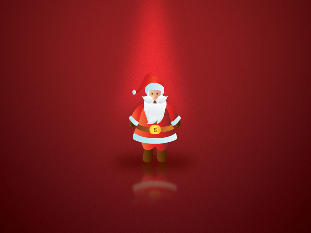 Ipad Iphone Hd Wallpaper Free: Free Merry Christmas Santa Claus HD Wallpapers For IPad