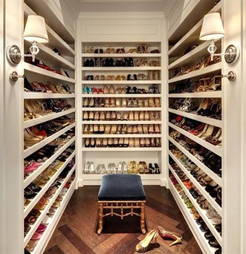 large shoe storage